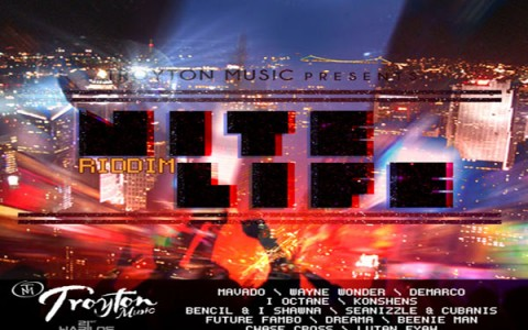 night life riddim troyon music may 2012