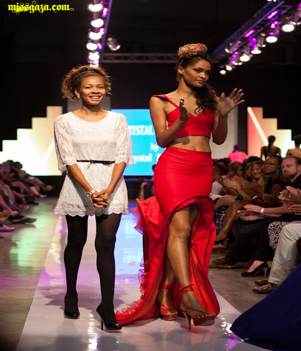 Crystal Powell CARIBBEAN FASHION WEEK JUNE 2012 MISSION CATWALK 2
