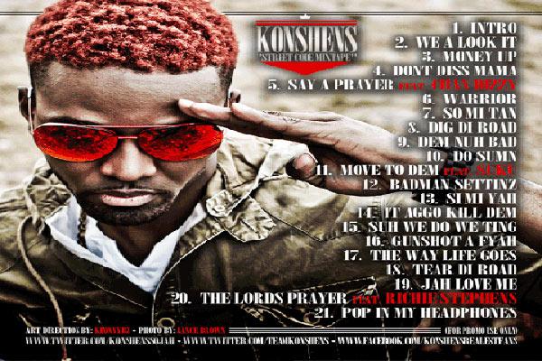 Download Konshens street code mixtape june 2012 download