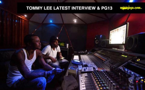 TOMMY LEE INTERVIEW AND LABEL PG 13