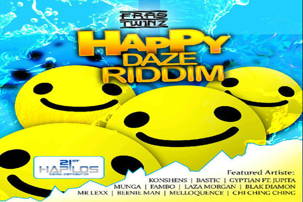 Fras Twinz HAPPY DAZE RIDDIM summer 2012