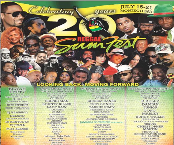 Reggae Sumfest 2012 Recaps