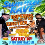 SUMMER RAVE dancehall party South Florida saturday 14 july 2012