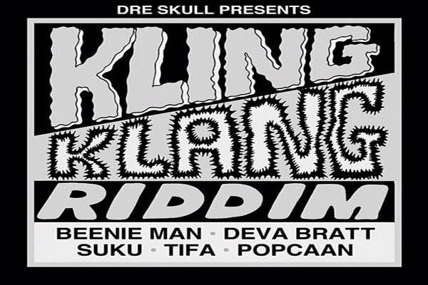 Listen To Kling Klang Riddim – Dre Skull Mixpak Records – July 2012