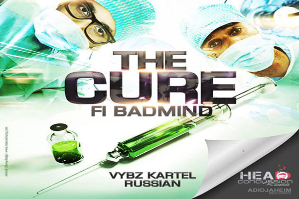 <strong>Listen To Vybz Kartel Feat. Russian New Song The Cure Fi Bad Mind Head Concussion Records</strong>
