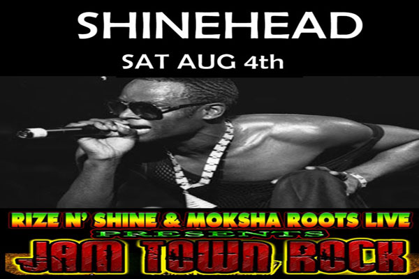 Shinehead Live in Miami August 4