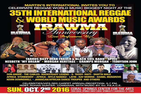 vybzkartelbestdeejayof the year 35th irawma-awards 2016 list of winners
