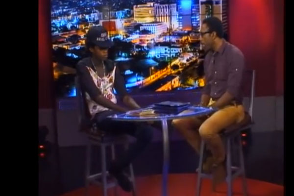 ALKALINE INTERVIEW ONSTAGE TV WITH WINFORD WILLIAMS – FEB 2014