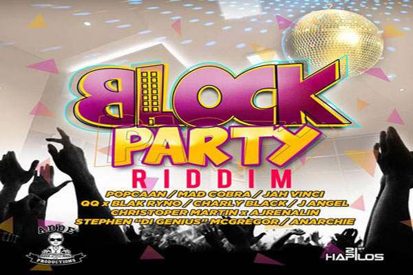 <strong>Block Party Riddim &#8211; Adde Instrumentals /21St Hapilos [Reggae Dancehall Music]</strong>