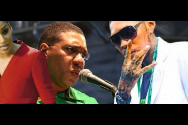 <strong>Vybz Kartel, Lisa Hanna &#038; First Minister Andrew Holness [Dancehall News]</strong>