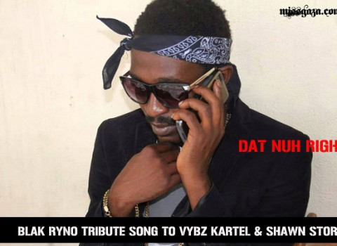 BLAK RYNO DAT NUH RIGHT TRIBUTE TO VYBZ KARTEL SHAWN STORM APRIL 2014