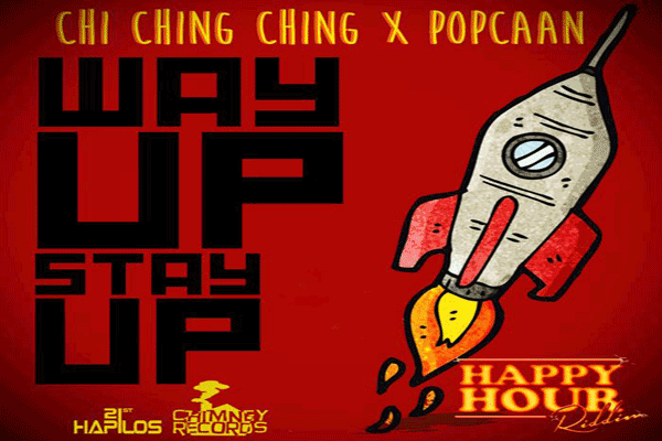 <strong>Chi Chi Ching Popcaan &#8211; Way Up Stay Up  &#8211; Chimney Records</strong>