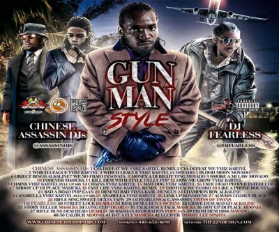 DOWNLOAD DJ FEARLESS & CHINESE ASSASSIN GUNMAN STYLE DANCEHALL MIXTAPE – NOV 2015