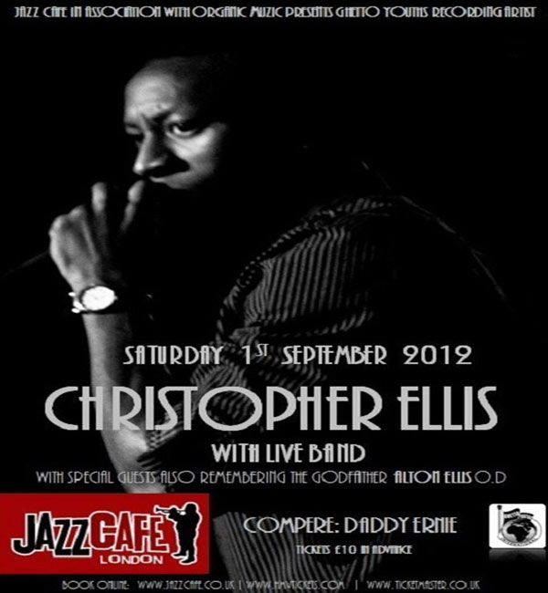 Christopher Ellis Live At Jazz Cafe London Sept 1
