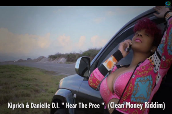 WATCH DANIELLE D.I. FEATURING KIPRICH – HEAR DEM PREE- OFFICIAL VIDEO – MARCH 2014