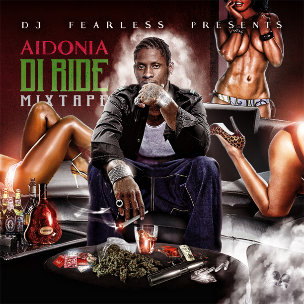 Download DJ FearLess - Aidonia - Di Ride Mixtape - Cover