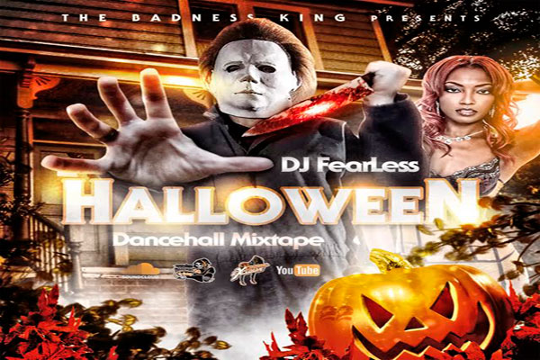 DJ FEARLESS HALLOWEEN DANCEHALL MIXTAPE 2015