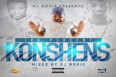 DJ NORIE PRESENTS 100 PERCENT KONSHENS OFFICIAL MIXTAPE – MAY 2015