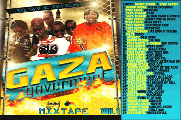 DJ SLICK GAZA GOVERNMENT VOL 2 Mixtape - JULY 2015