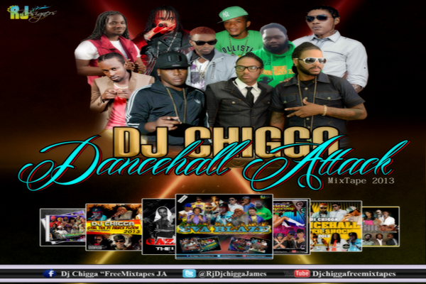 <strong>Download DJ Chigga &#8220;Dancehall Attack 2013&#8243; Mixtape Hosted By Tommy Lee Sparta</strong>