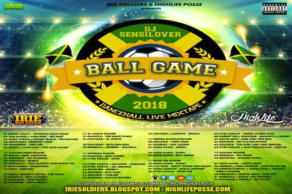 Download Dj Sensi Lover Ball Game Free Dancehall Mixtape
