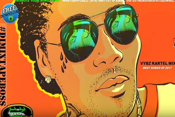 Download DJ Treasure Vybz Kartel Dancehall Mix 2018 (Best