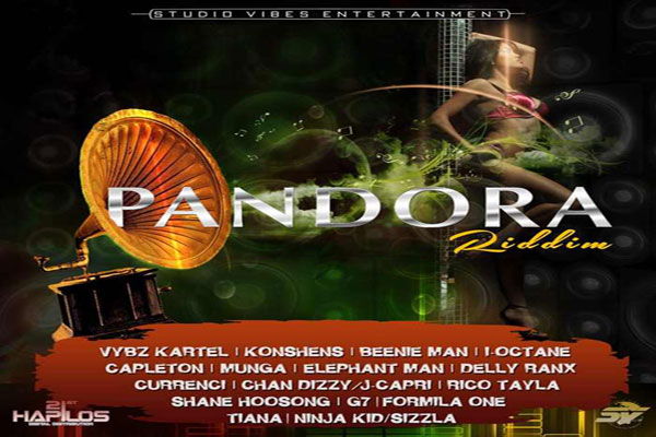 DOWNLOAD PANDORA RIDDIM FULL STUDIO VYBZ ENT. JUNE 2015