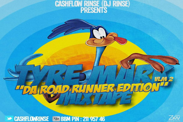 <strong>Download DJ Rinse -Tyre Mark Da Road Runner Mixtape Vol 2 &#8211; Dec 2012</strong>