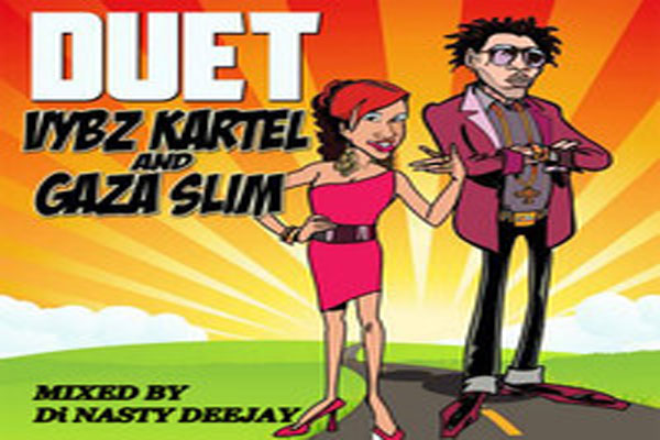 "DOWNLOAD  DJ NASTY ""DUET MIXTAPE"" (VYBZ KARTEL & GAZA SLIM)- JULY 2014"