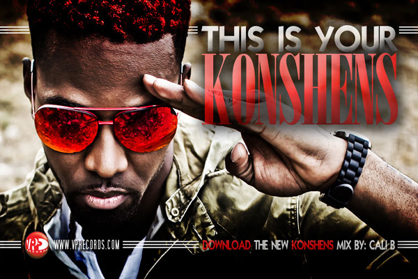 Download Konshens New Mixtape – This Is Your Konshens & Labor Day NYC Dates