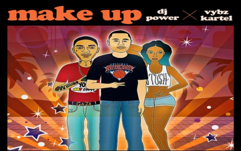 Dj Power Vybz Kartel-make-up-new single jan 2013