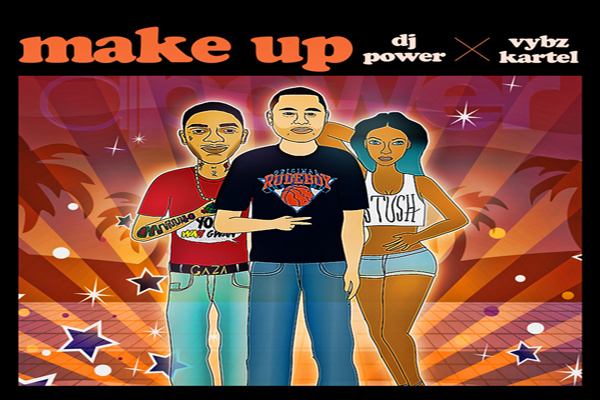 Dj Power Vybz Kartel make up new single jan 2013