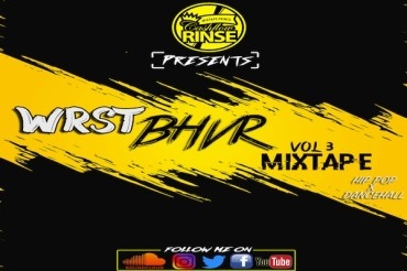 <strong>Download Dj CashFlow Rinse Hip Hop &#038; Dancehall Mixtape &#8211; WRST BHVR VOL 3 [SEPT 2017]</strong>