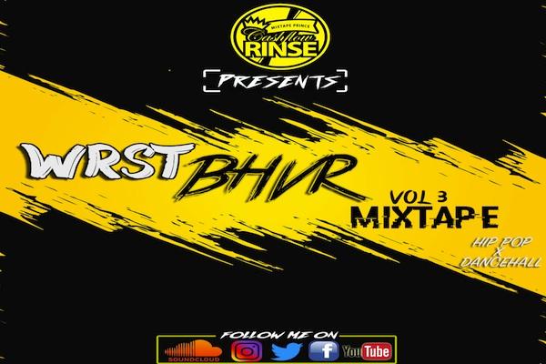 Dj cash flow rinse hip hop dancehall free mix WRST