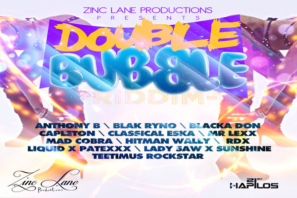 <strong>Listen To Double Bubble Riddim &#8211; Zinc Lane Productions &#8211; Jan 2013</strong>