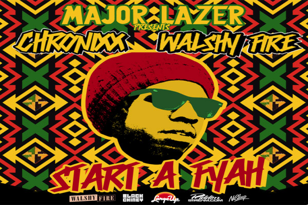 Download-Chronixx Start A Fyah Walshy Fire Major Lazer Nov 2012
