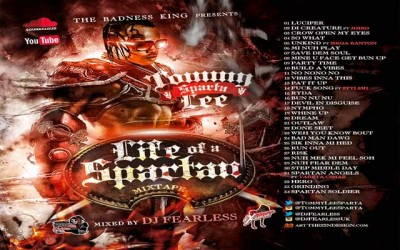 DJ FearLess – Tommy Lee Sparta – Life Of A Spartan DanceHall Mixtape – April 2015