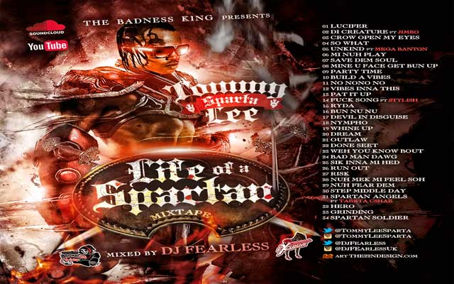 Download-dj fearless tommy lee sparta-life of a spartan dancehall mixtape april 2015