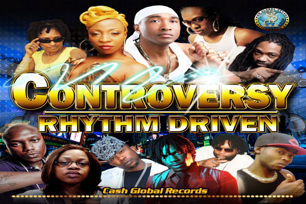 New Reggae Dancehall Music : Controversy Riddim – Cash Global Records Now On iTunes