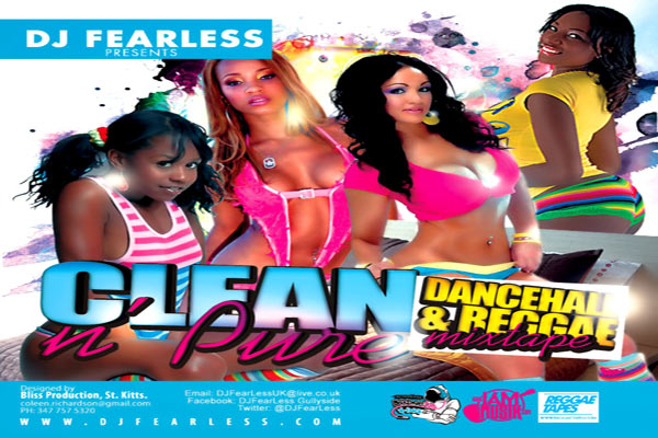DOWNLOAD DJ FEARLESS DANCEHALL REGGAE MIXTAPE CLEAN & PURE – FEB 2013