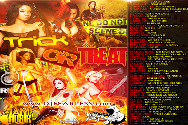 <strong>Download DJ FearLess &#8211; Trick Or Treat &#8211; Mixtape [Jamaican Dancehall Music]</strong>