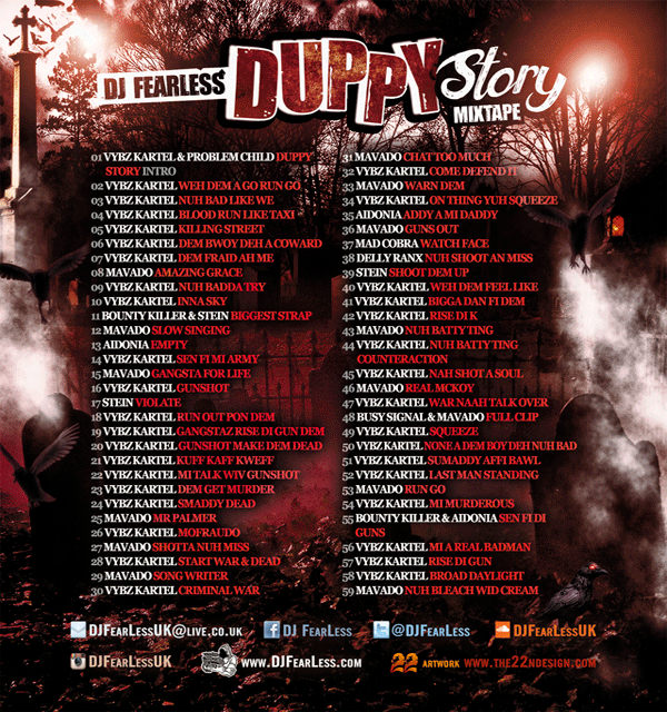 Download DJ FearLess Duppy Story Dancehall Mixtape