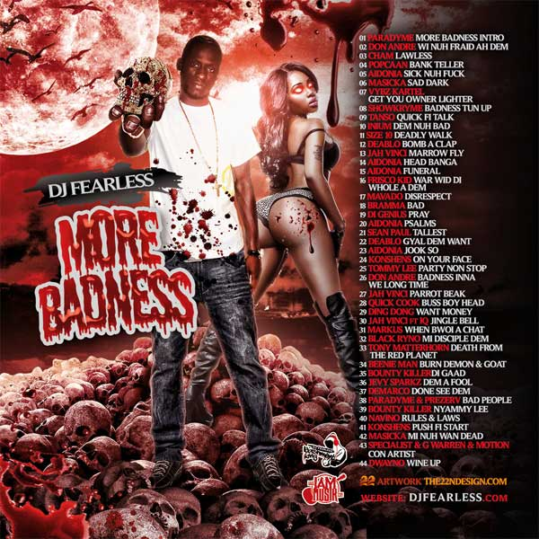 Download DJ Fearless – More Badness Dancehall Mixtape