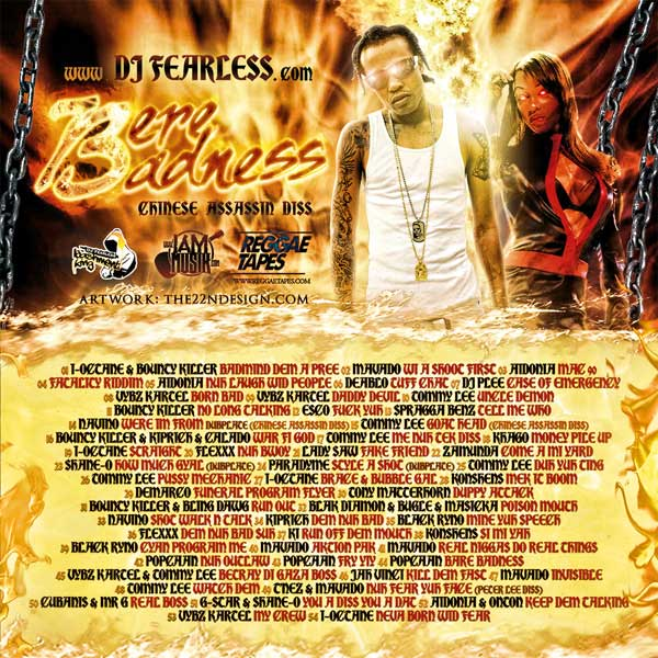 Download Dj fearless Bere Badness mixtape Chinese Assassin Diss oct 2012