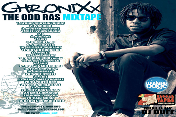 DOWNLOAD DJ DUFF – CHRONIXX THE ODD RAS MIXTAPE – APRIL 2013