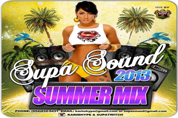 DOWNLOAD KARIM HYPE SUPA SOUND SUMMER MIX 2013