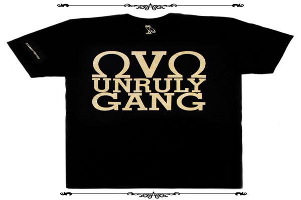 Drake Popcaan Tshirts OVO- Unruly Gang