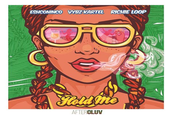 Eshconinco Vybz kartel richie loop Hold Me new dancehall single july 2017
