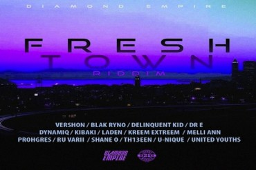 <strong>Listen To Fresh Town Riddim Mix Blak Ryno, Laden, Kibaki, Shane O, Prohgres,Vershon Diamond Empire</strong>