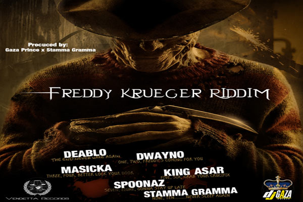 <strong>PLAY FREDDY KRUEGER RIDDIM &#8211; VENDETTA MUSIC &#8211; JUNE 2013</strong>